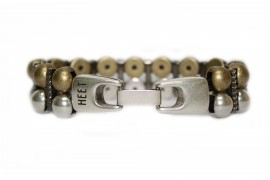 Vice Ox Mixed Metal Bracelet