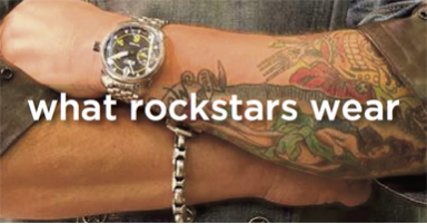 What Rock Stars Wear